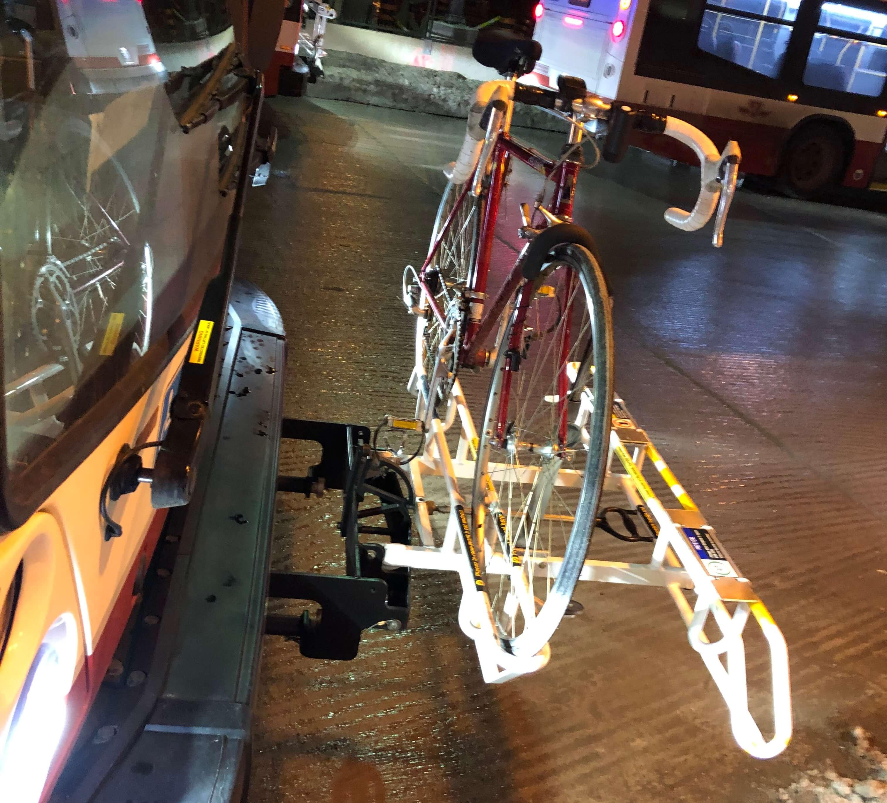トロント 自転車 乗せる TTC