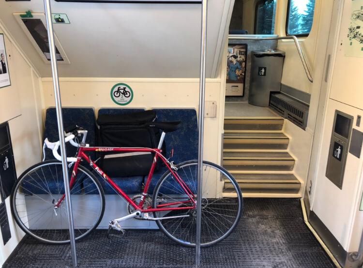 トロント 自転車 乗せる