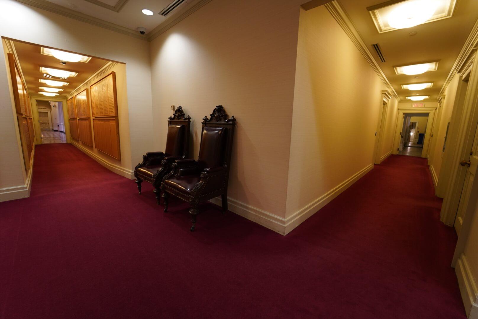 osgoode hallの廊下