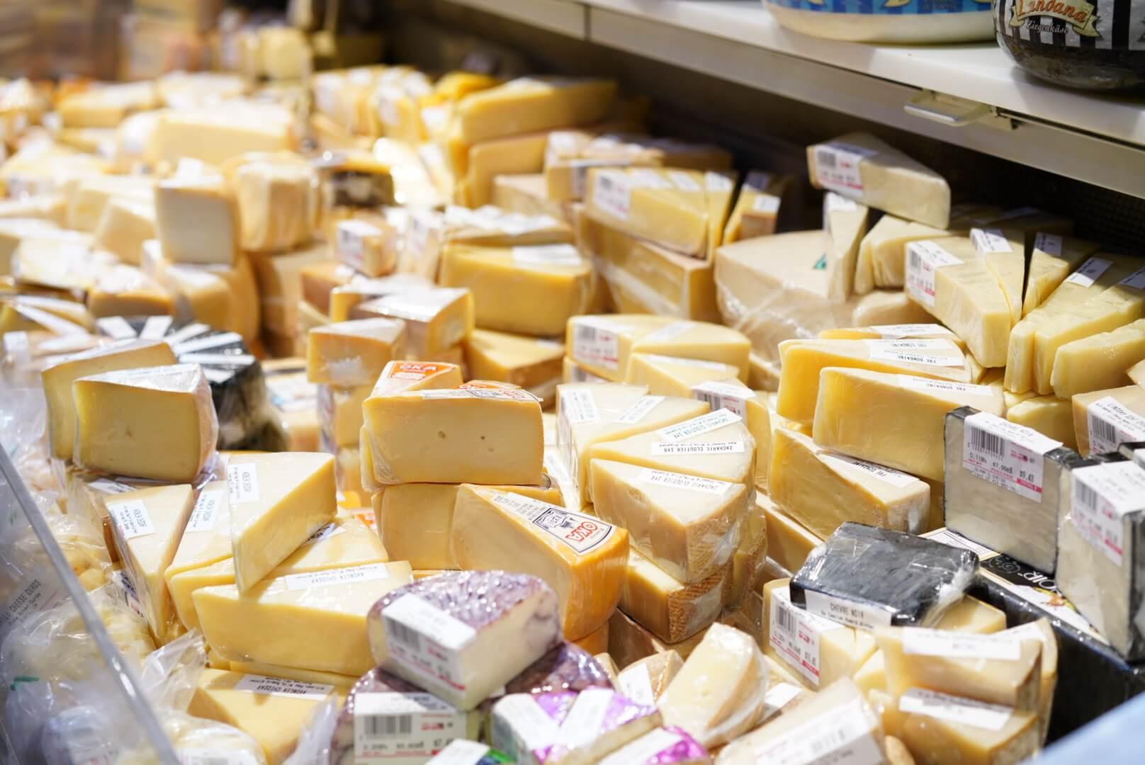 セントローレンスマーケットのチーズ