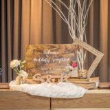 自作の結婚式ウェルカムボード