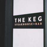 the kegの看板