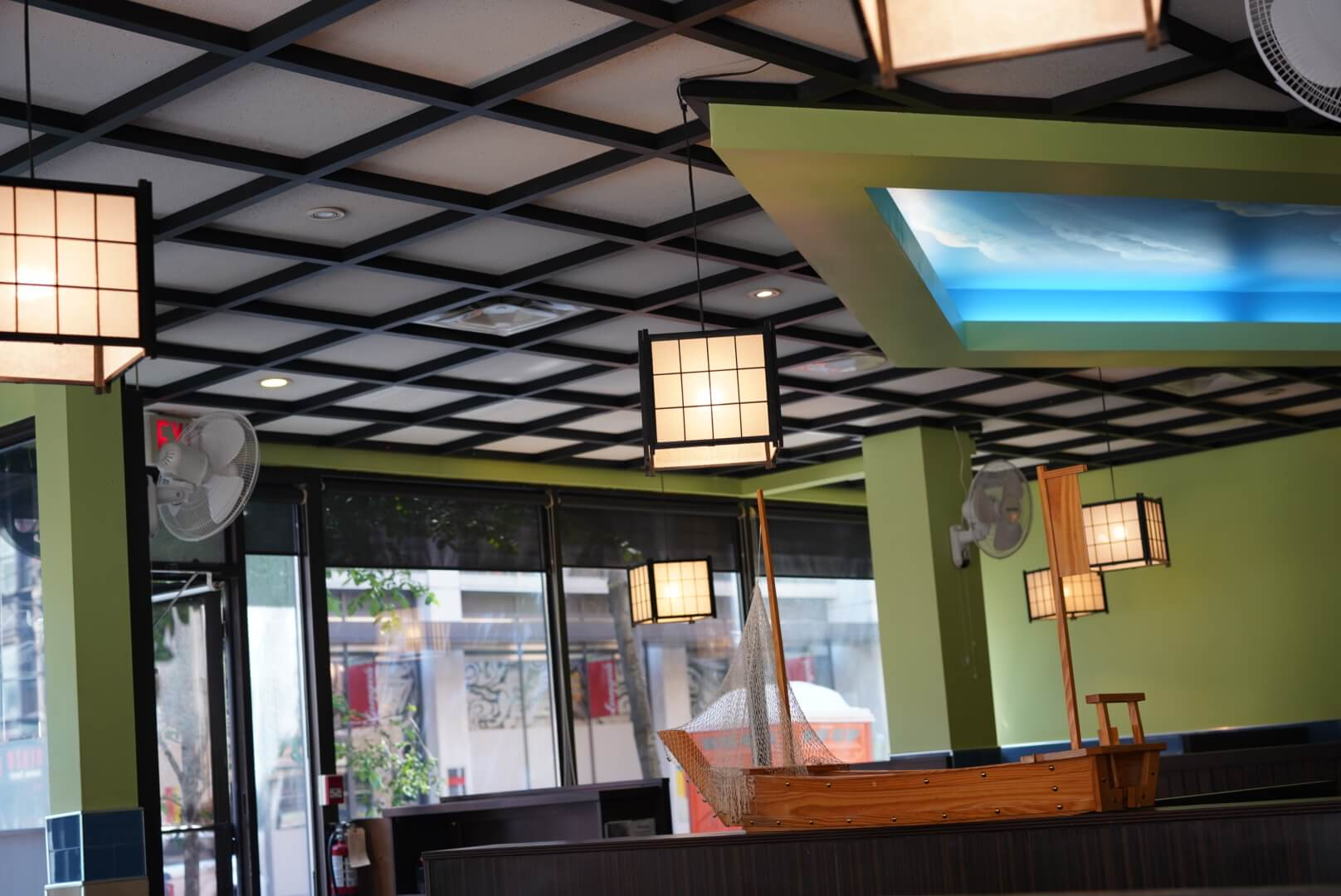 kyoto house sushiの店内