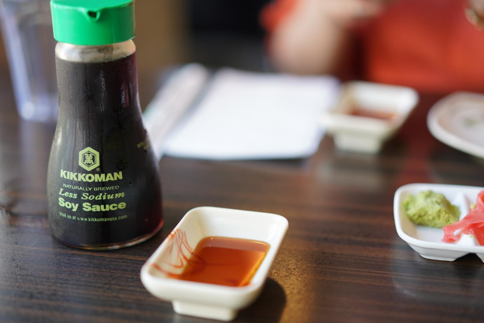 kyoto house sushiの醤油