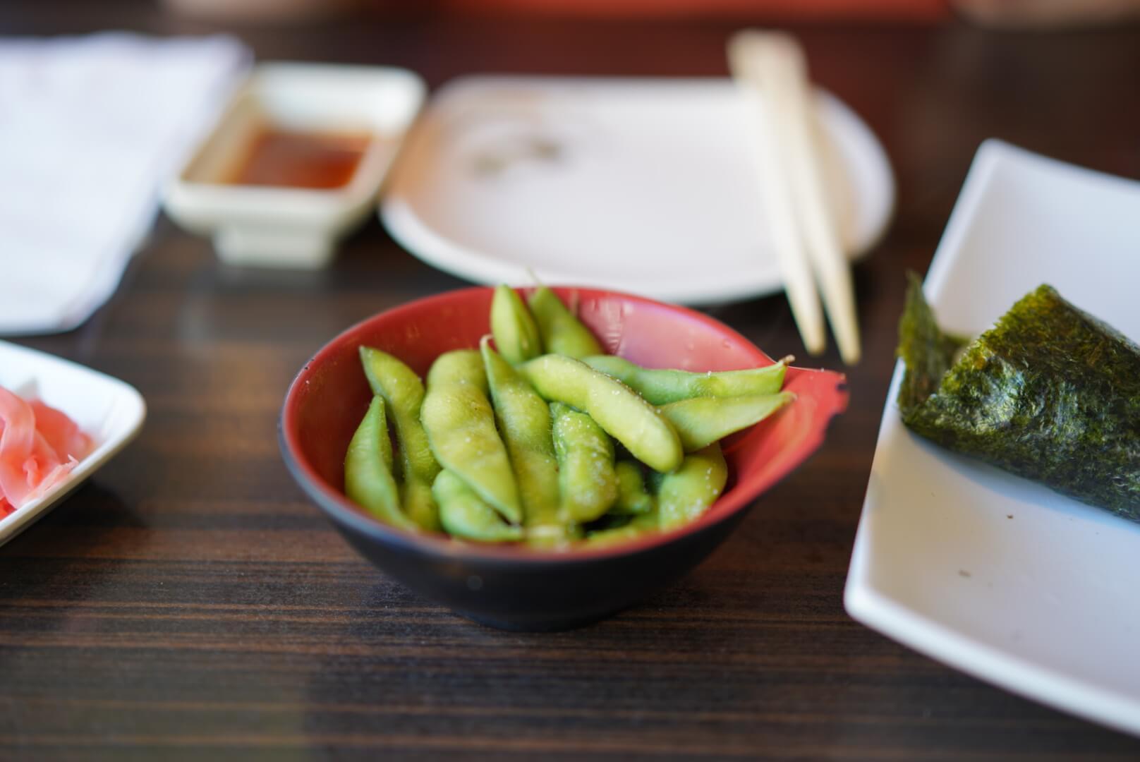 kyoto house sushiの枝豆