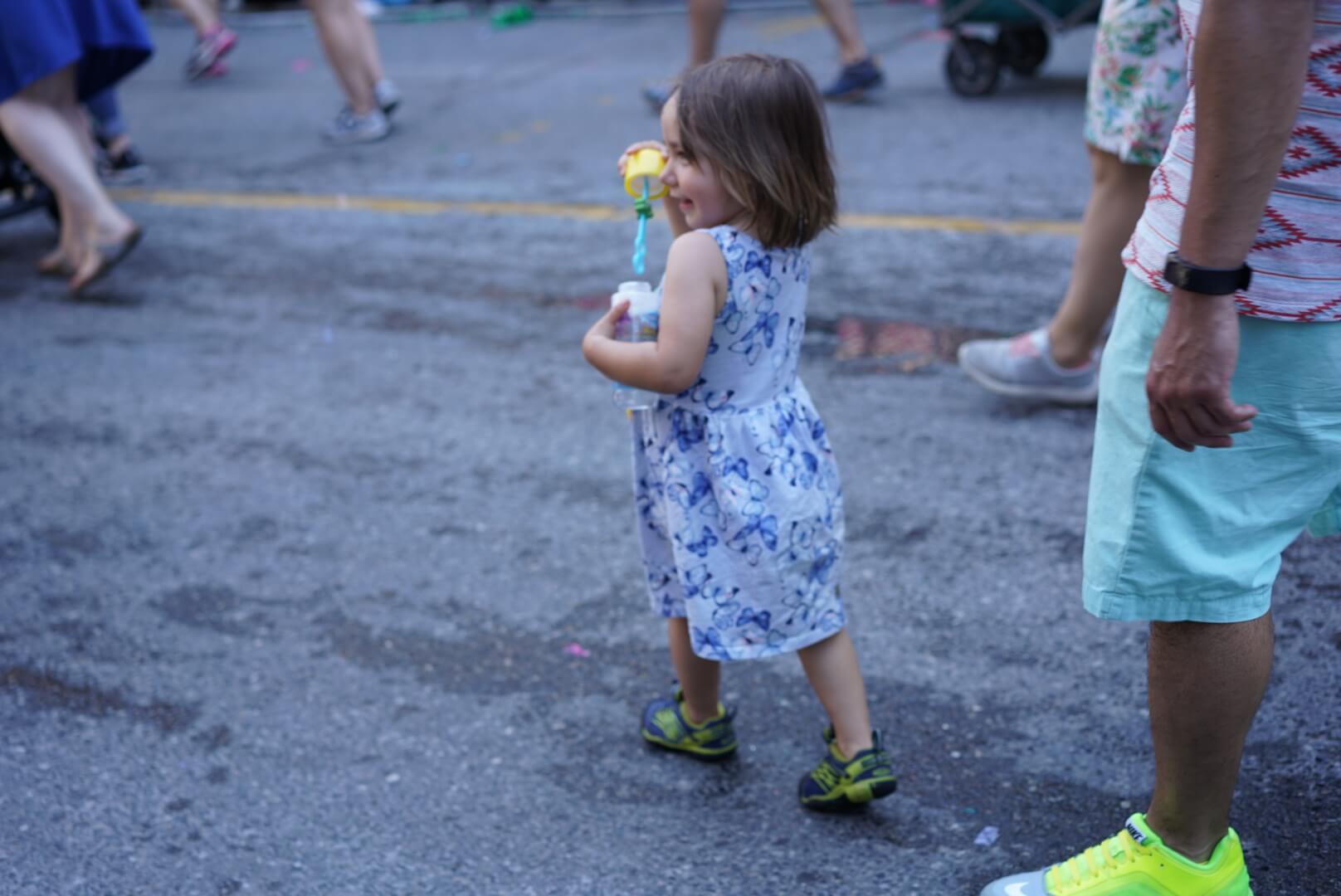 トロントのプライド・パレードの様子