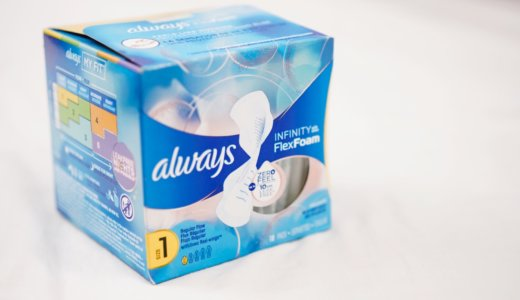 【実験】カナダでおすすめの生理用ナプキン。