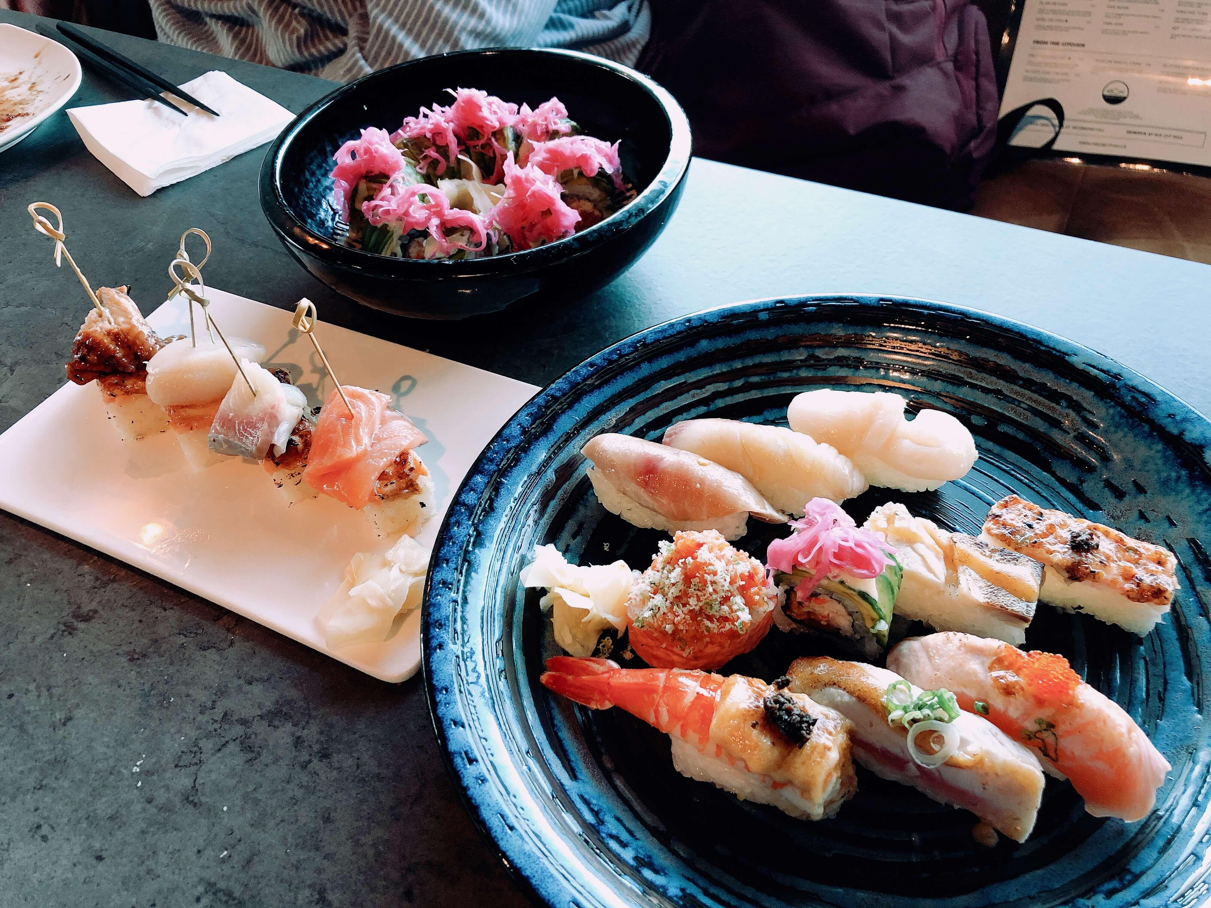Project fishの寿司