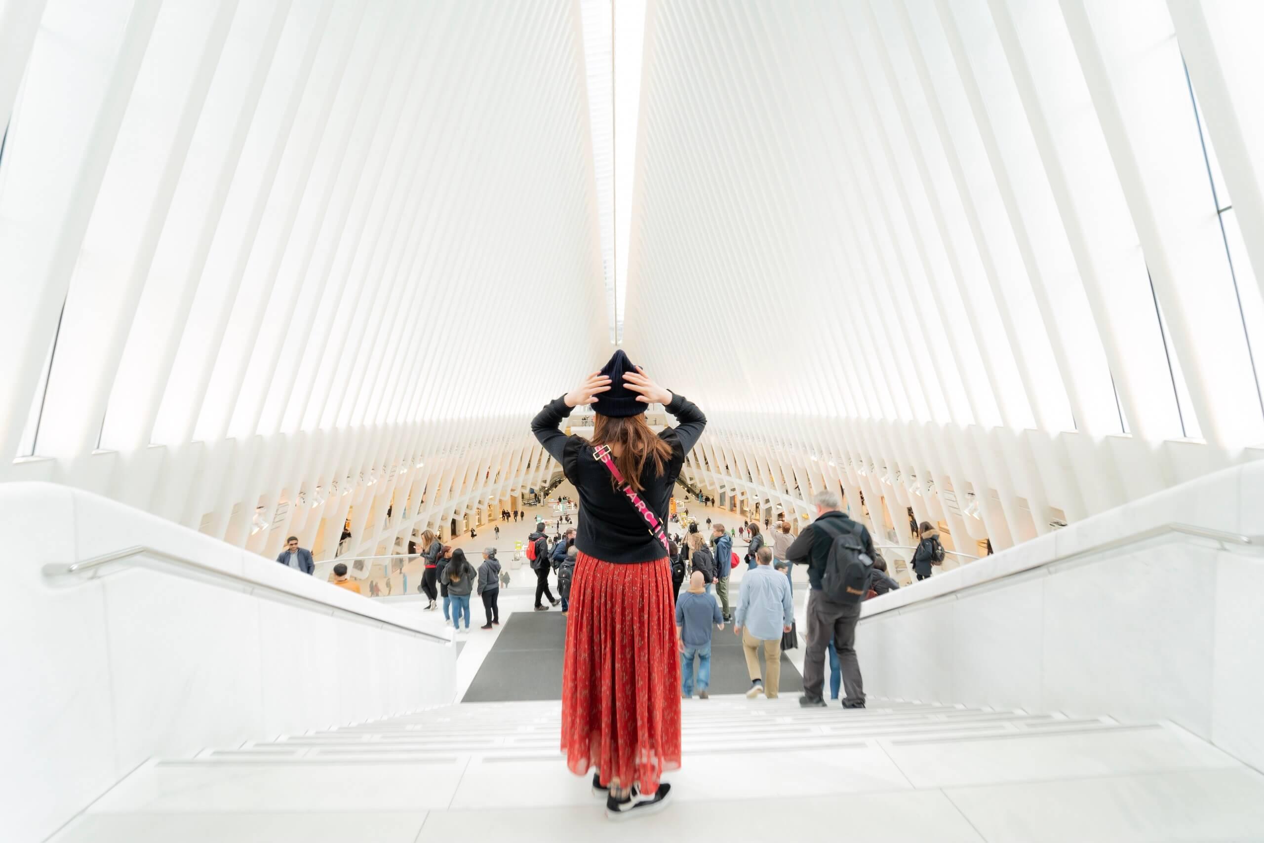 新ワールド・トレード・センターの内部