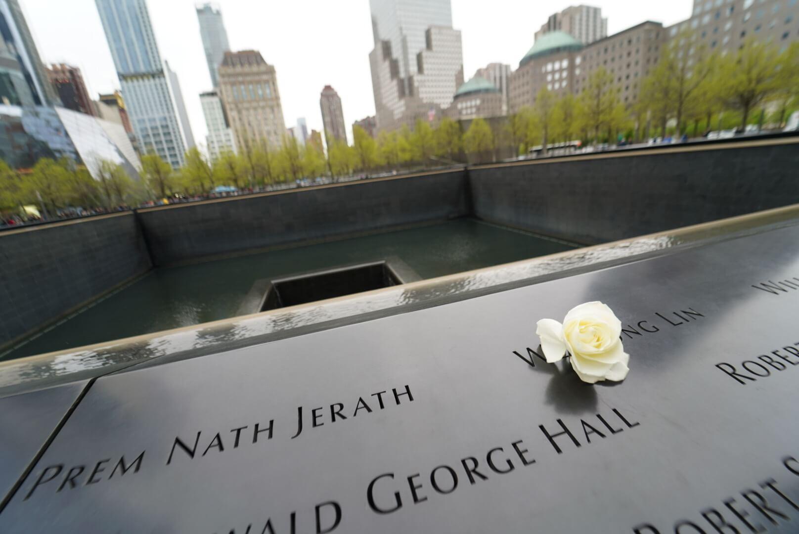 ワールド・トレード・センターの墓標