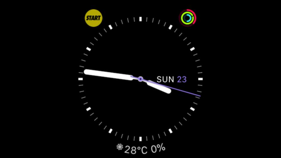 ヤフー天気をApple Watchに表示